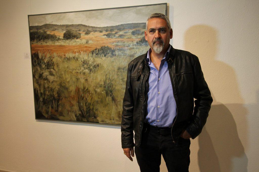 jose-maria-diaz-primer-premio-en-pintura-con-su-obra-monte-bajo
