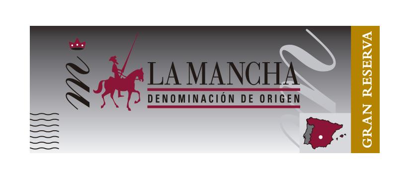Precinto de calidad vinos gran reserva DO La Mancha