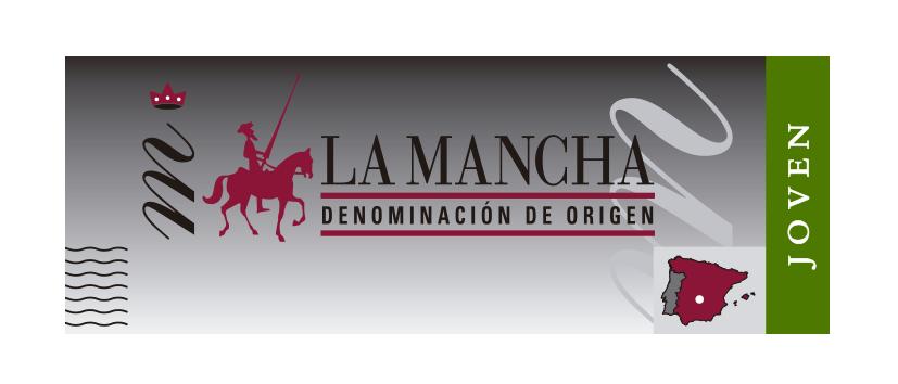 Precinto de calidad vinos jóvenes DO La Mancha