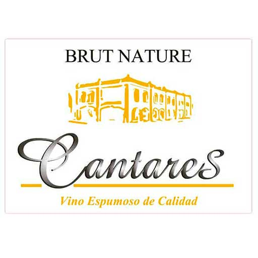 Once Espumosos con DO La Mancha - Cantares Brut Nature