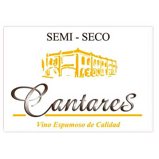 Once Espumosos con DO La Mancha - Cantares Semi-Seco