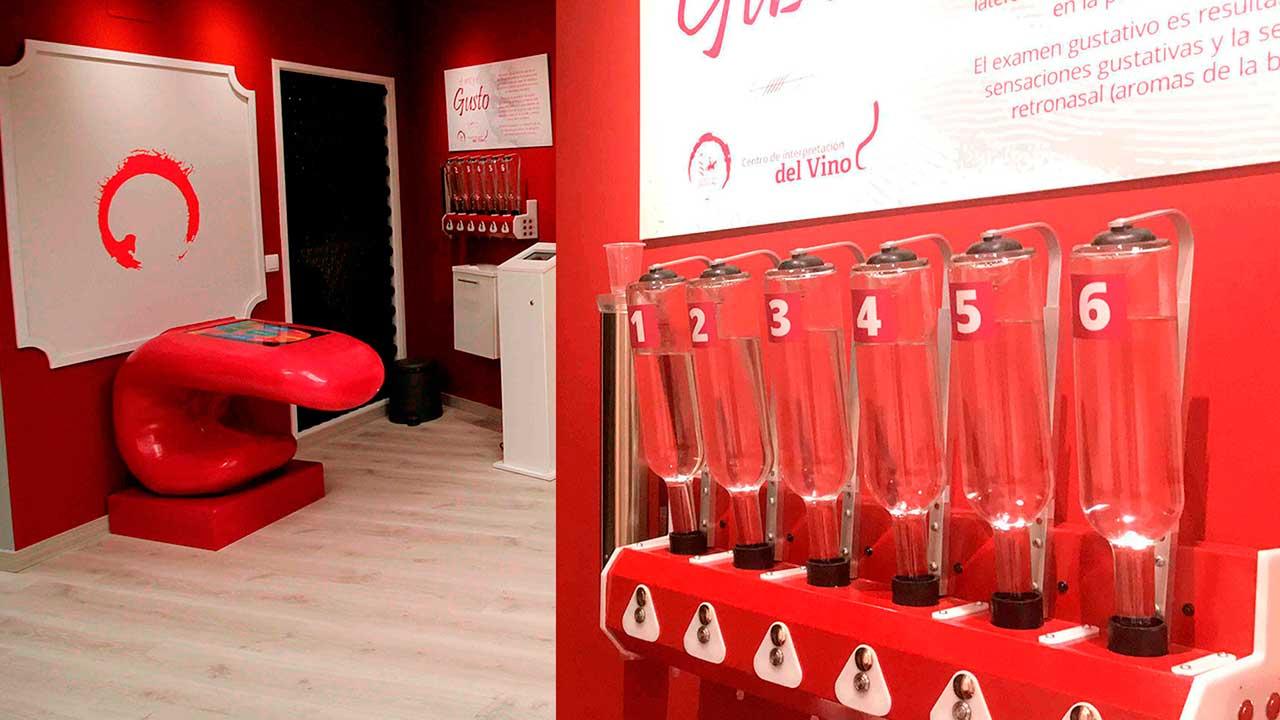 Centro de interpretación del vino - Gusto