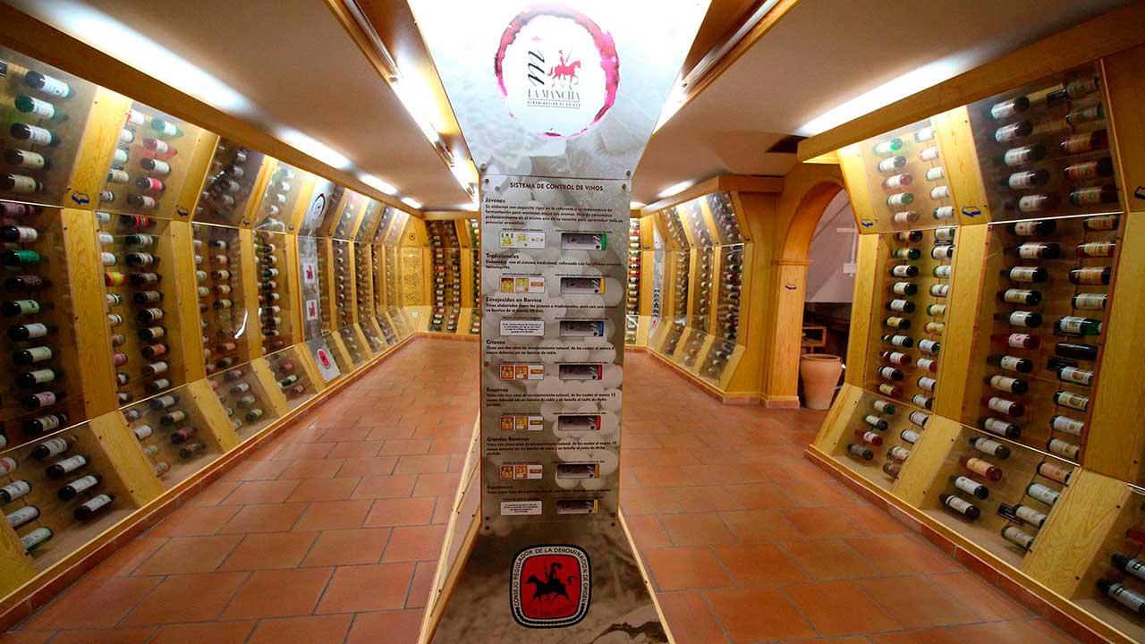 Centro de interpretación del vino - Portada