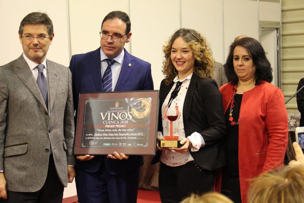 Bodegas Campos Reales, ganadora en la categoría de Tintos más de tres años