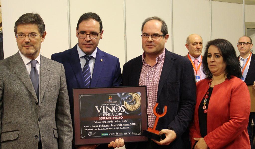 Bodegas Puente de Rus consiguió un Premio Plata en tintos con más de tres años