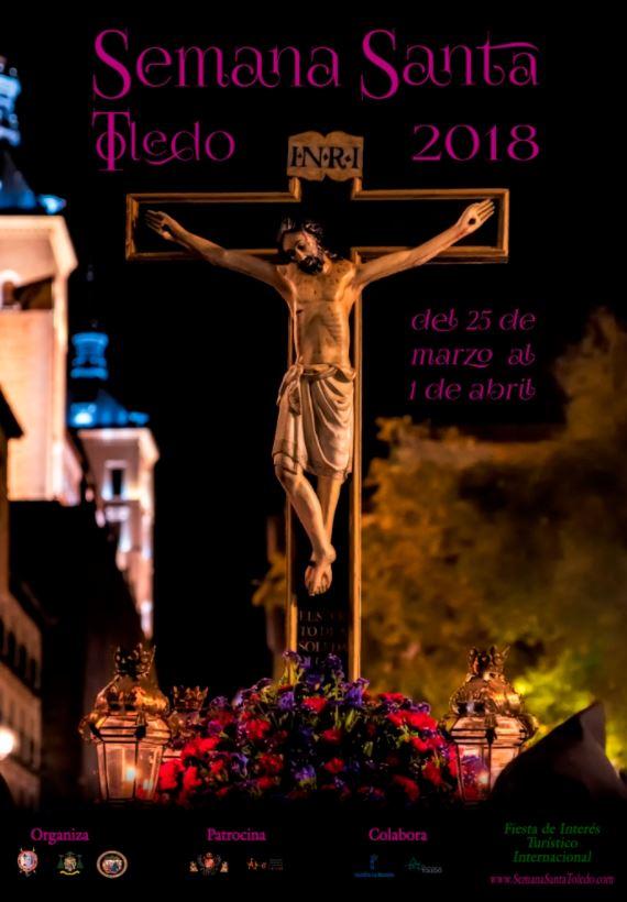 Cartel de 2018 de la Semana Santa en Toledo.