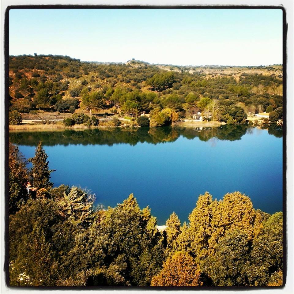 El entorno de las Lagunas de Ruidera es hoy un oasis en La Mancha. Foto, página oficial del Parque Natural
