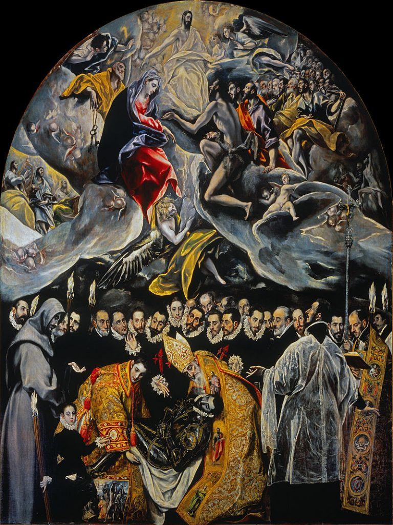 Enoturismo en Toledo - El entierro del conde de Orgaz - El Greco
