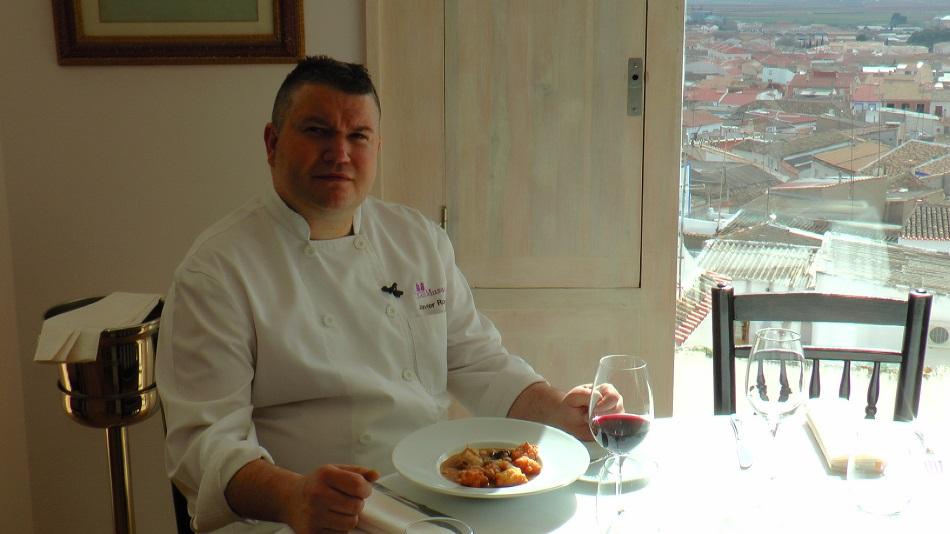 Javier Romo, cocinero de Las Musas