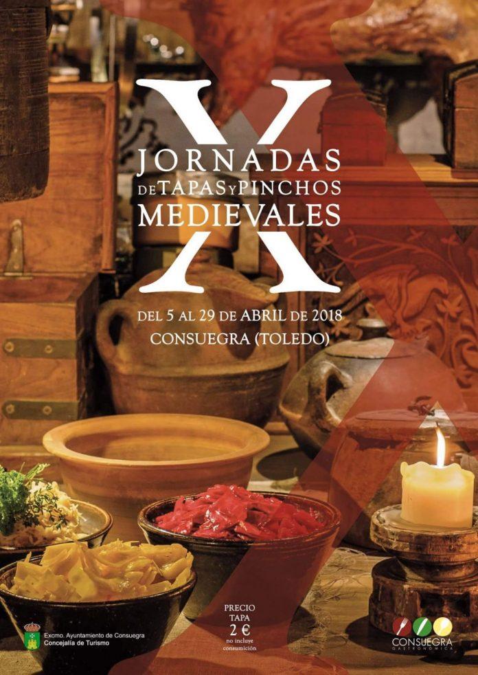 Cartel de Jornadas tapas Medievales