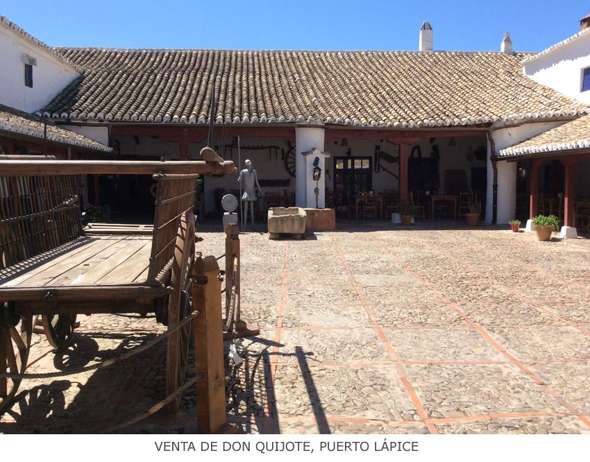 La Mancha y japón en la venta de Don Quijote