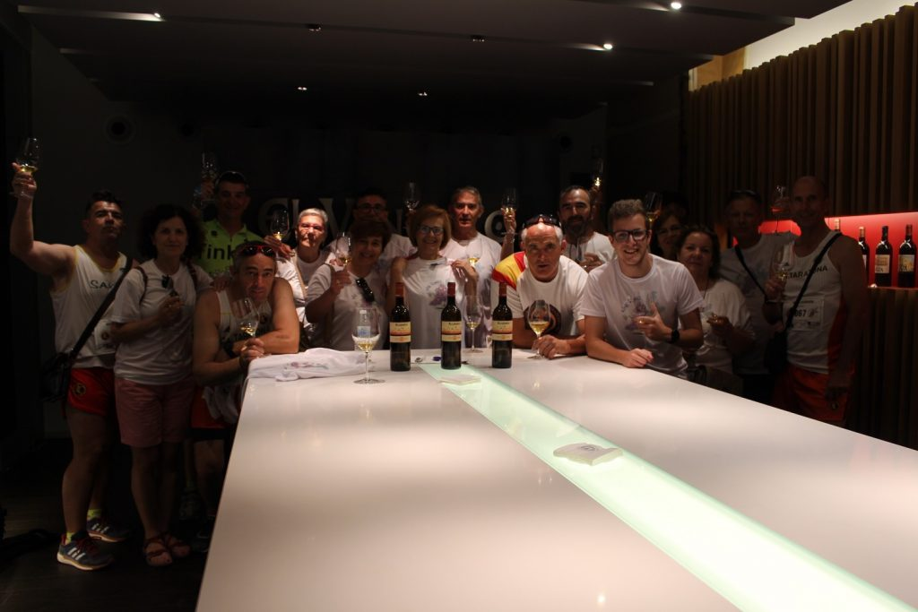 Una de las etapas completadas partía de Bodegas El Vínculo hasta la sede del Consejo Regulador
