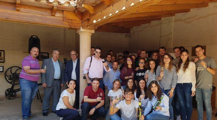 Foto de familia de los alumnos participantes UCLM