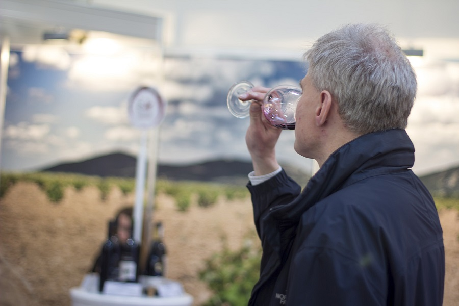 conservación y temperatura de los vinos de La Mancha