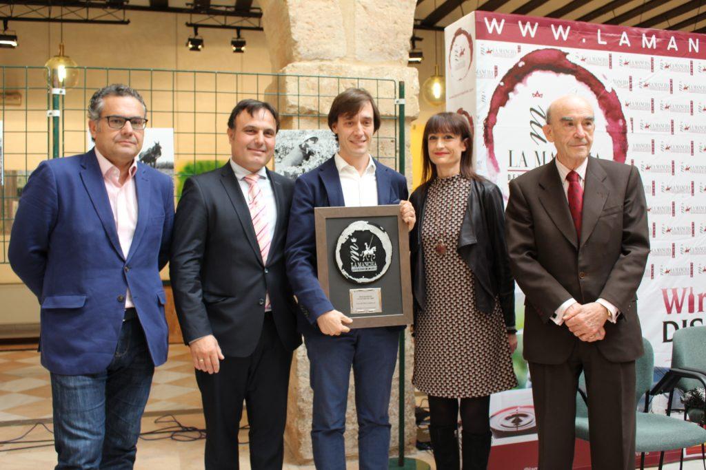 A. Candelas, de la revista Mi vino, Premio a la Divulgación mediática de la cultura del Vino