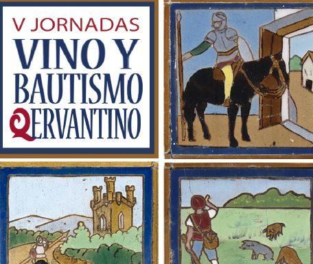 Bautismo Qervantino, azulejos de la Fonda de la Estación. Imagen cedida por ADIF