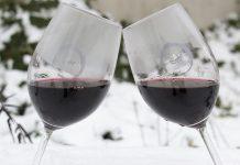 Brindis de paz en la nieve