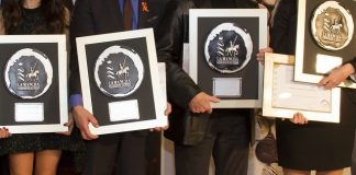 Foto premios Jóvenes, previa