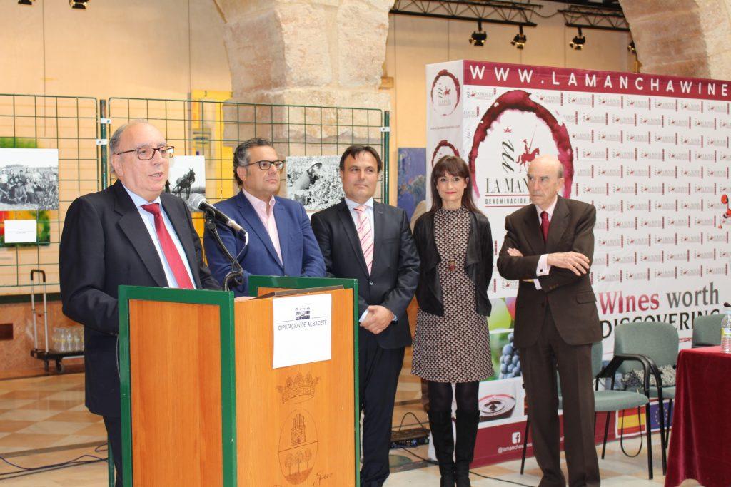 Francisco González, de Gruart La Mancha, Premio a la Investigación del vino