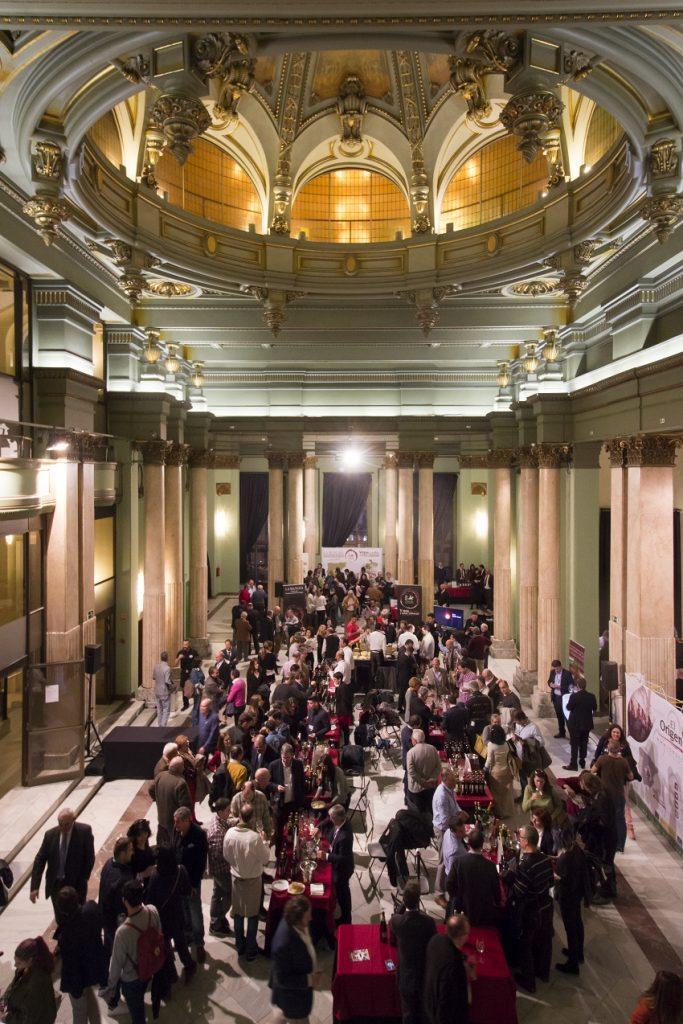 Los vinos DO La Mancha en el Salón de las columnas en el Círculo de Bellas Artes