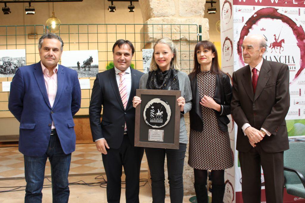 Teresa Gutiérrez, del Restaraunte Azafrán, Premio 'Al gusto'
