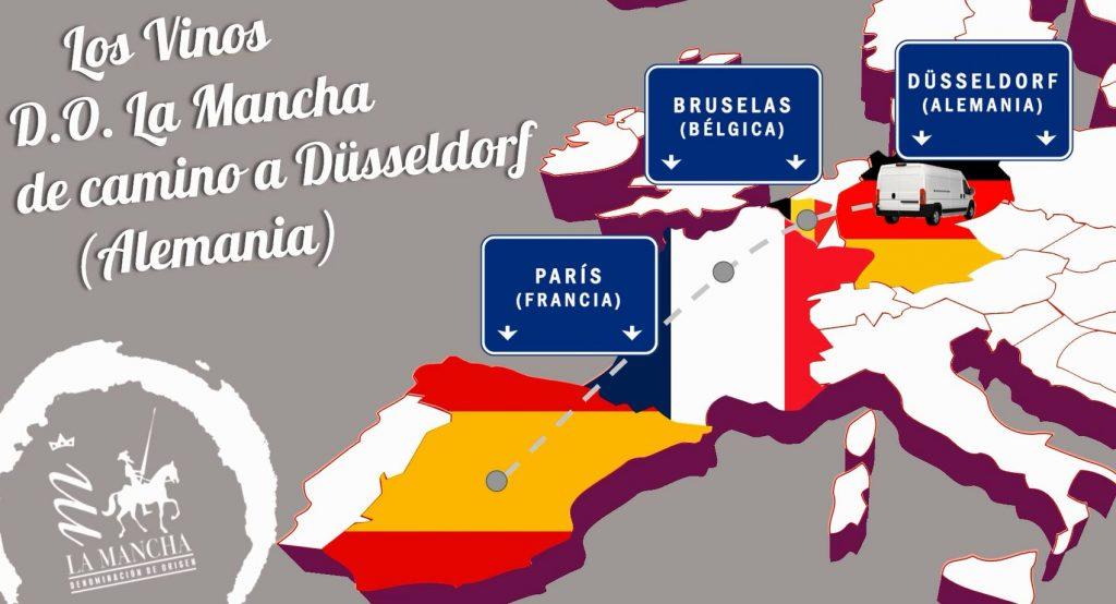 Ruta de los vinos DO La Mancha en su viaje a Prowein