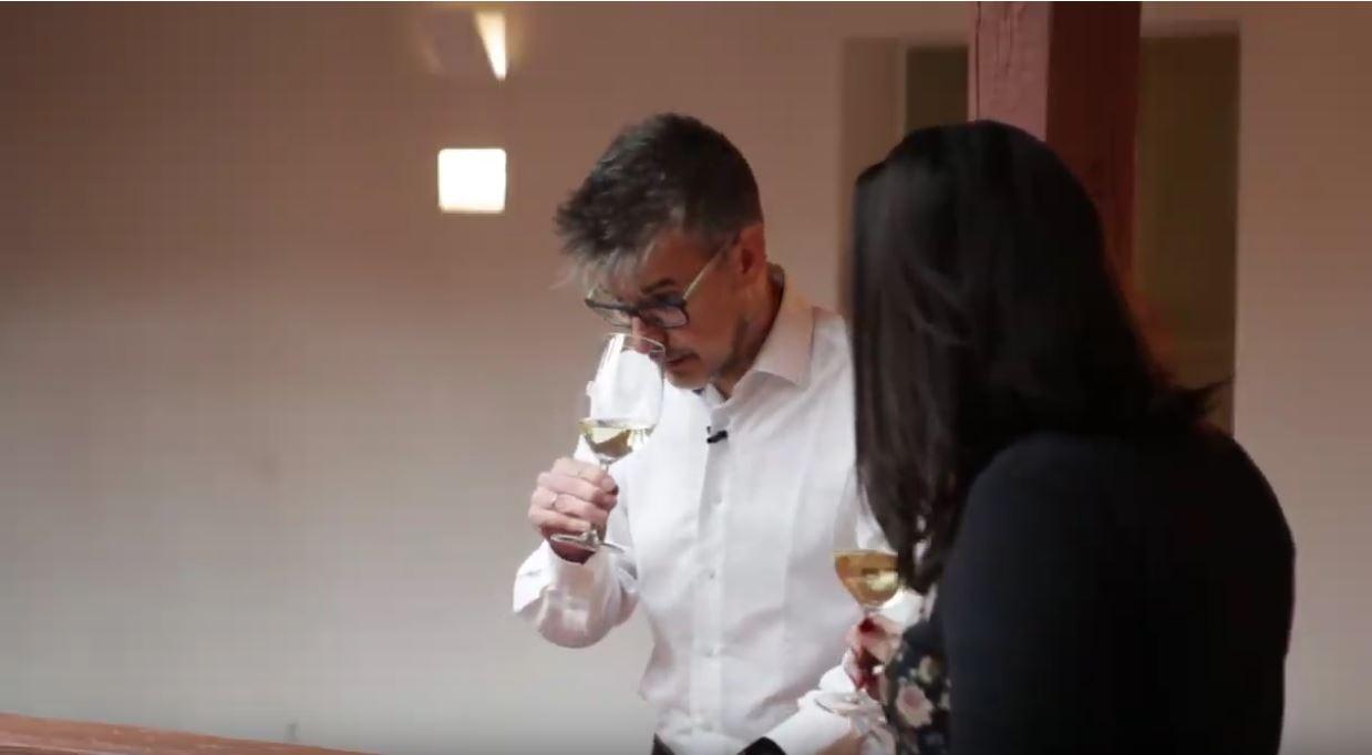 cómo catar un vino Chardonnay - fase olfativa