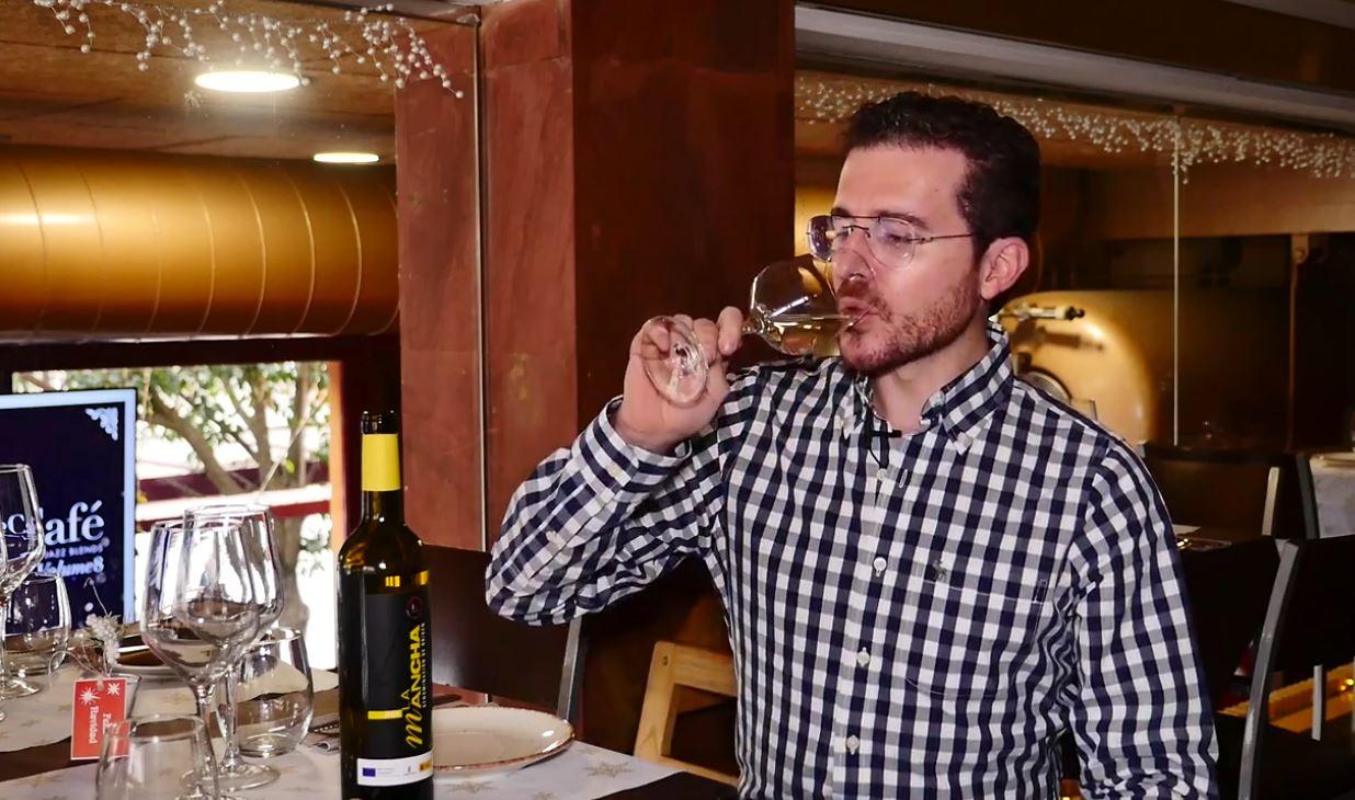 cómo catar un vino Macabeo - fase gustativa