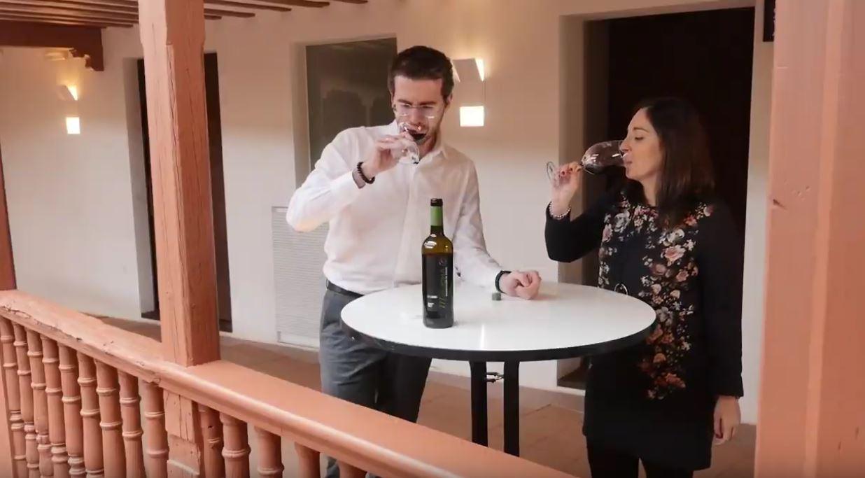 cómo catar un vino Merlot - fase gustativa