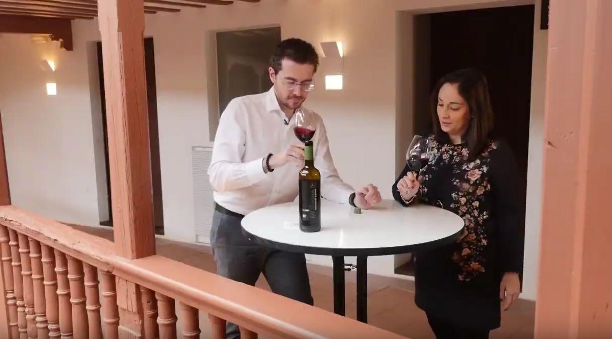 cómo catar un vino Merlot - fase olfativa