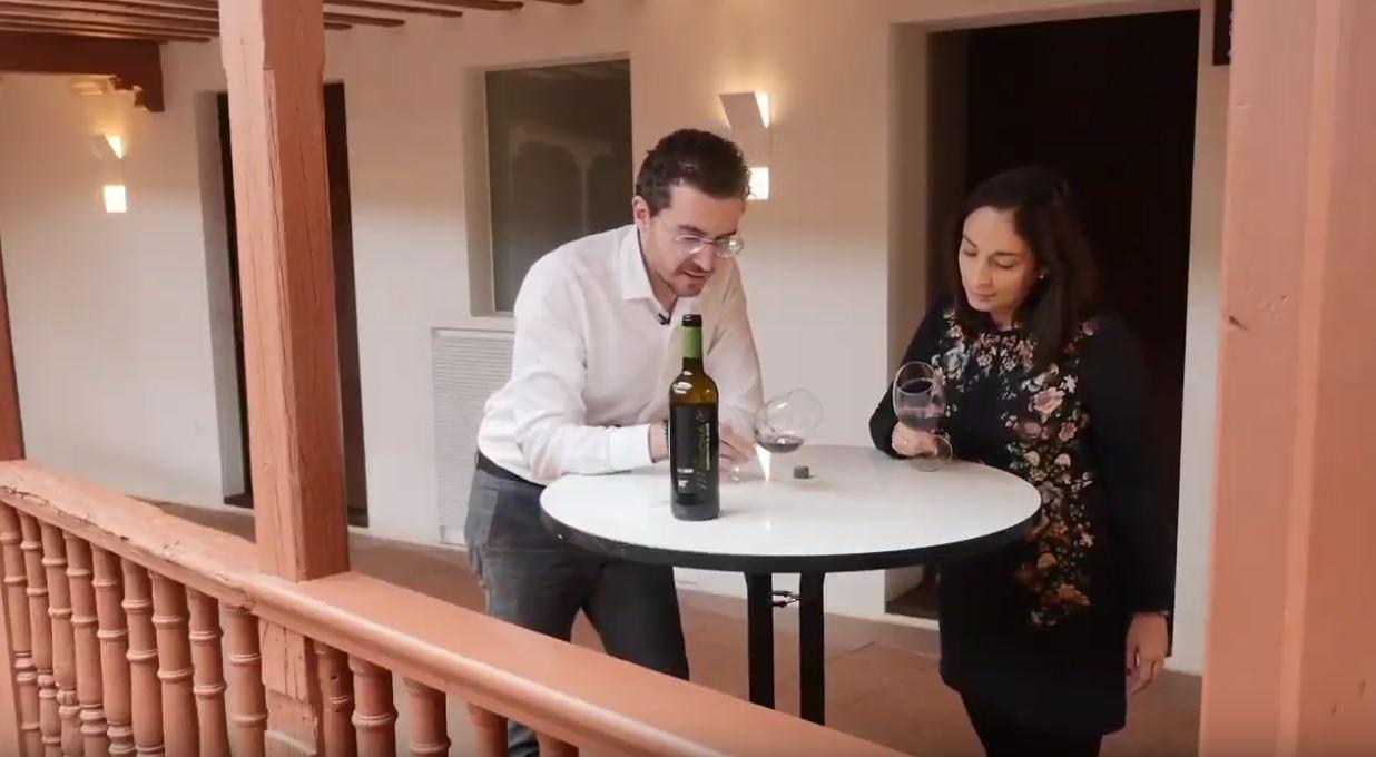 cómo catar un vino Merlot - fase visual