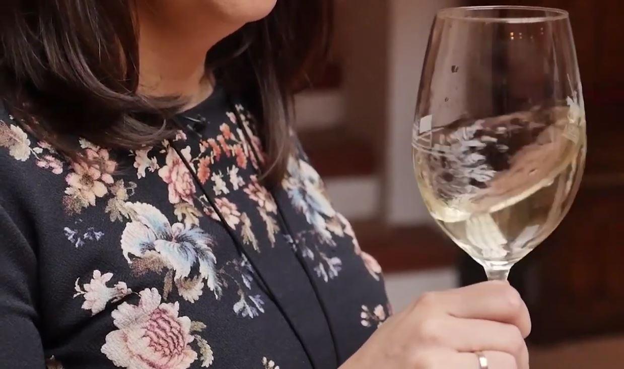 cómo catar un vino Sauvignon Blanc - Fase olfativa