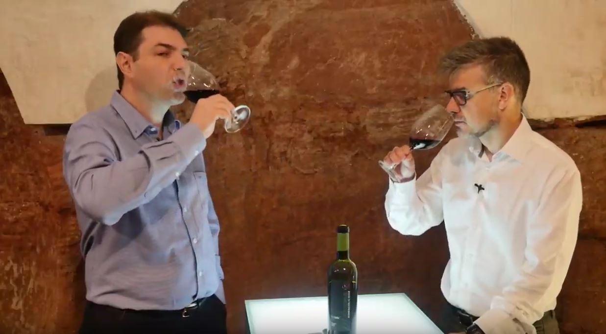 cómo catar un vino Syrah - Fase gustativa