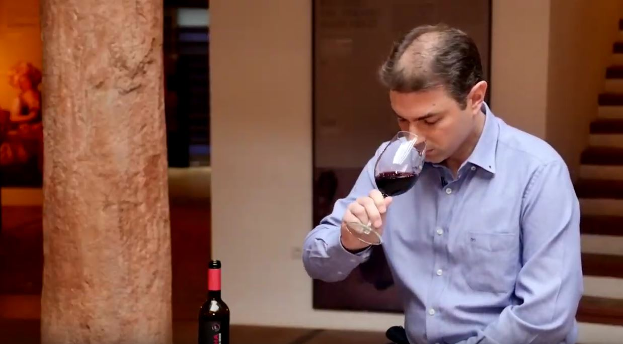 cómo catar un vino reserva coupage de La Mancha - Fase olfativa
