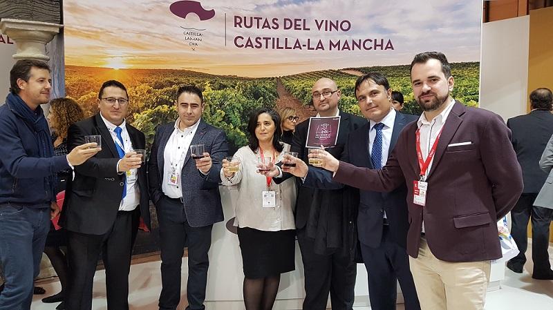 Algunos de los socios de la Ruta del Vino de La Mancha