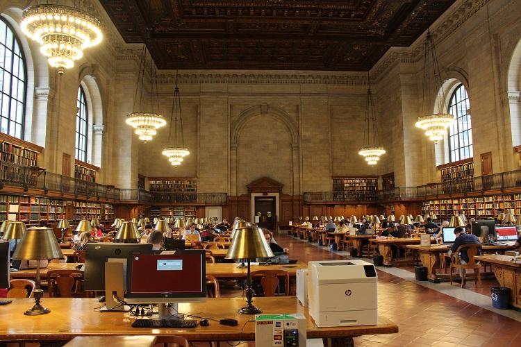 Biblioteca nacioal de Nueva York