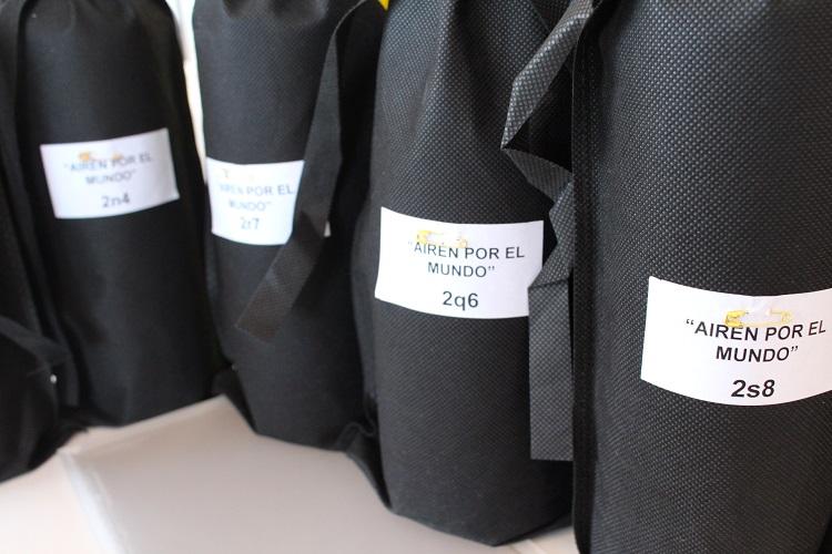 Algunas de las muestras preparadas en airén por el mundo