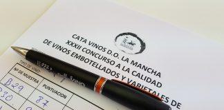 Ficha de cata del jurado, Premios a la calidad vinos DO La Mancha