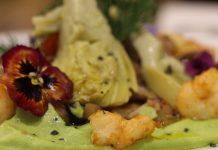 Atrevida y Antigua: alcachofas a baja temperatura con espumoso