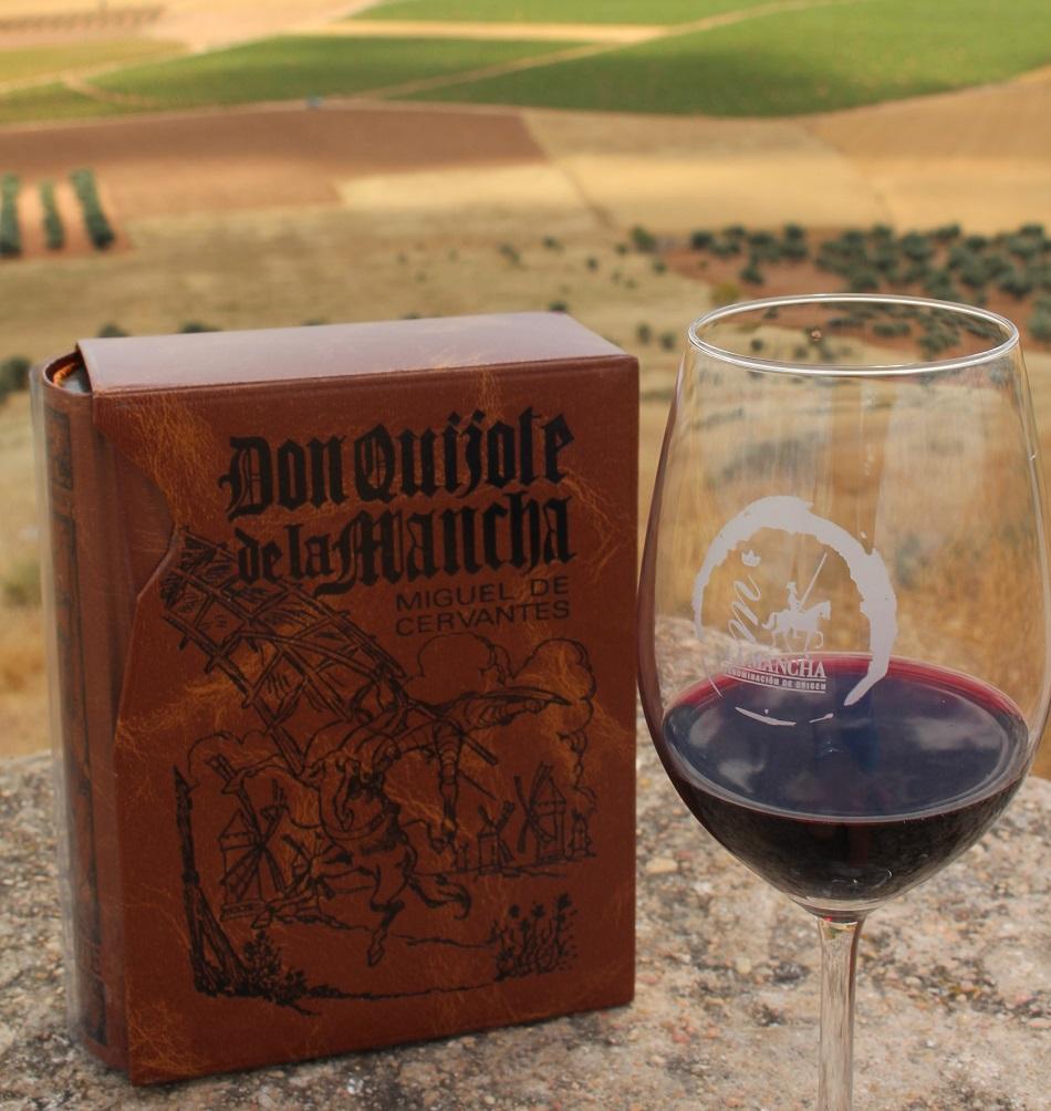 Don Quijote de La Mancha y el vino