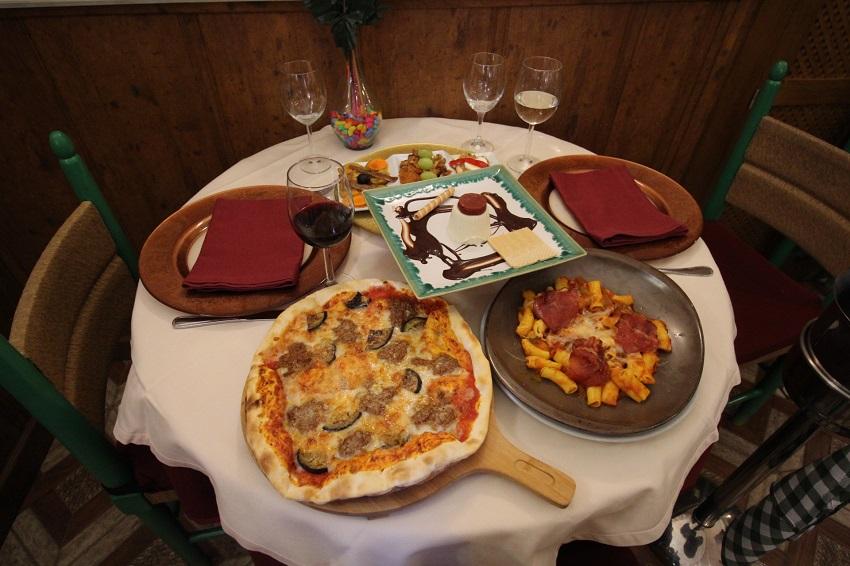 Menú de la Cocina de Plinio en Fran Angelica, Tomelloso