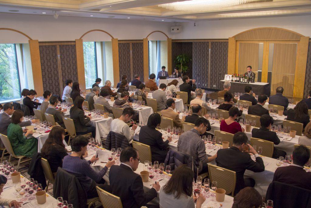 Seminario de cata realizado en Japón en este 2019