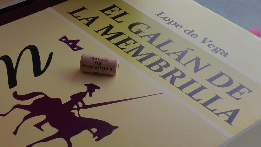 Un detalle de Cervanvino en Madrid
