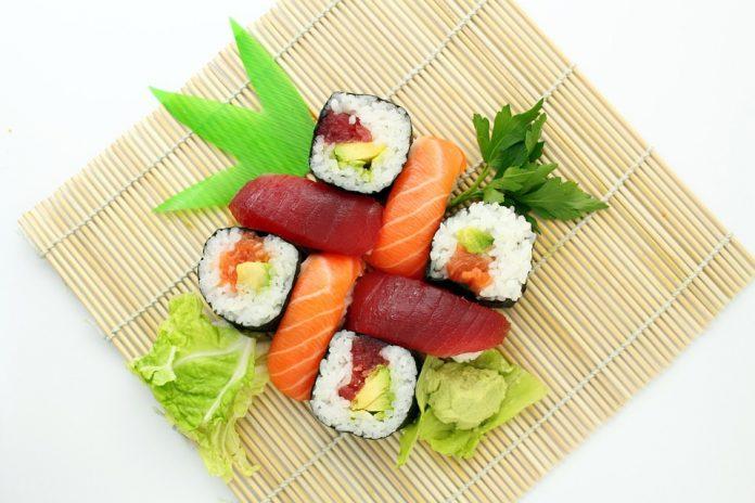 sushi y vino de La Mancha