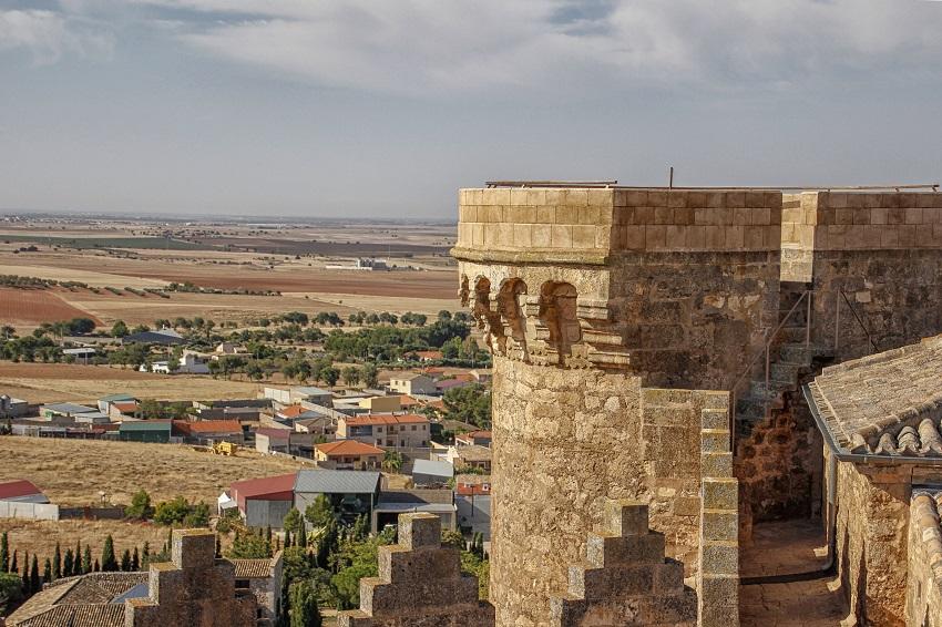 Almenas del Castillo en Belmonte