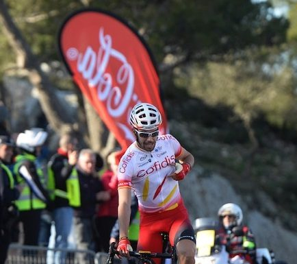 Jesús en la pasada Vuelta a Mallorca