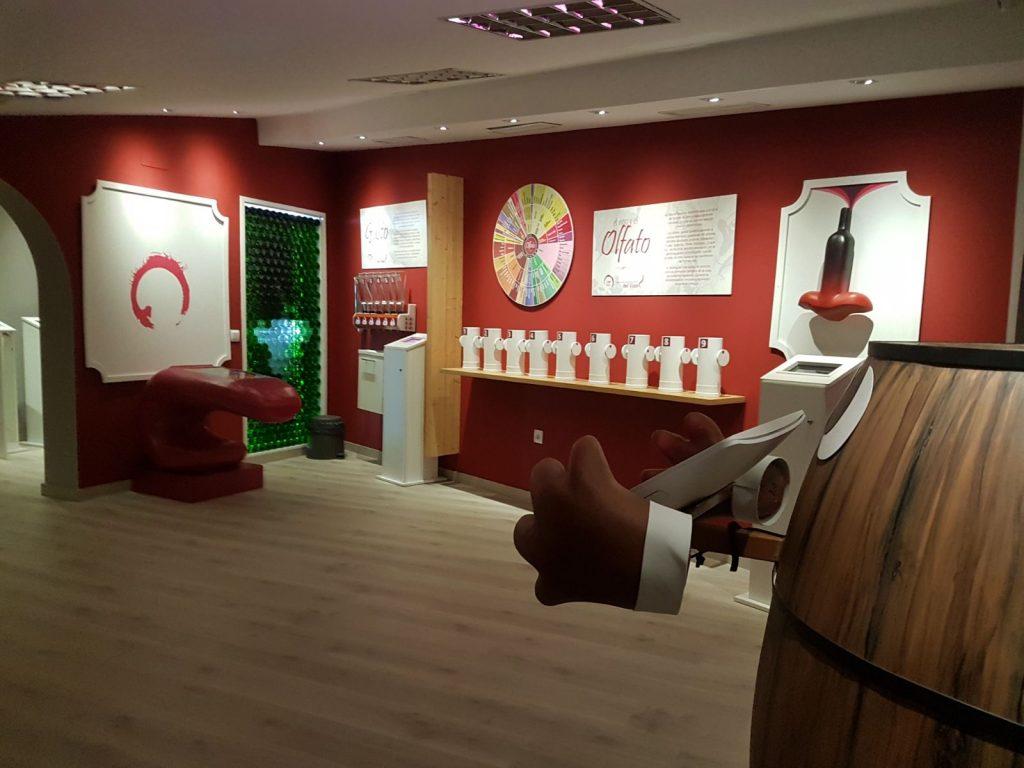 El centro de Interpretación del vino se podrá visitar durante la Noche de Patrimonio