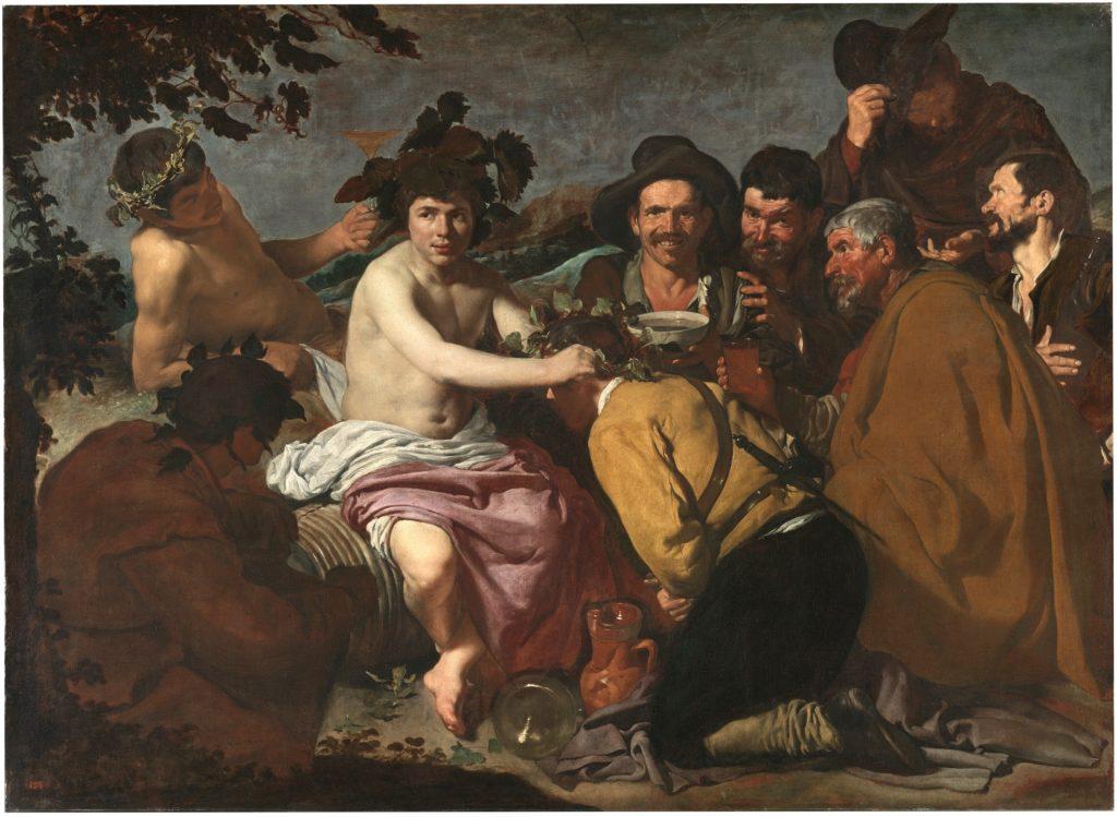 El triunfo de Baco. Velázquez. 1628.