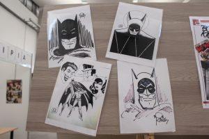 Exposición de Batman del cómic de El Provencio