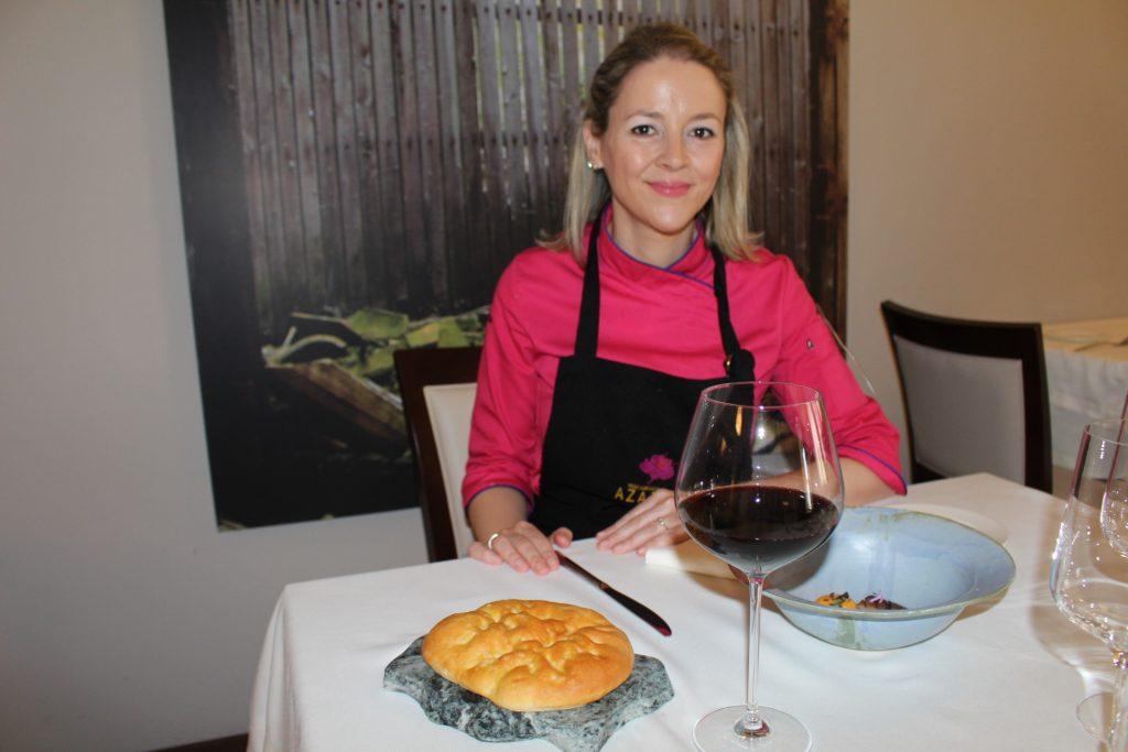 Teresa Gutiérrez, Restaurante Azafrán